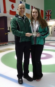 Irish Mixed Doubles champions 2014 - Neil and Alison Fyfe