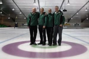 Irish Senior Champions 2015 - Bill Gray, Neil Fyfe, David Whyte and David Hume.