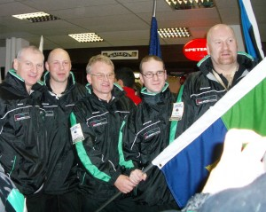 His first Irish outing  in Sofia  at the Europeans 2004