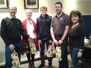 David, Frances, Andrew, Arran and Marie