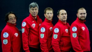 Viktor Kim (Fourth, Skip) Almaz Saidvakassov (Third, Vice-Skip) Roman Kazimirchik (Second) Nikolay Zhorov (Lead) Iskander Farizov (Alternate)