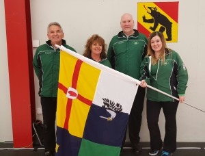 and with the Four Provinces flag.