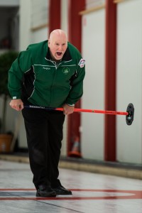 Most capped Irish curler - Johnjo Kenny
