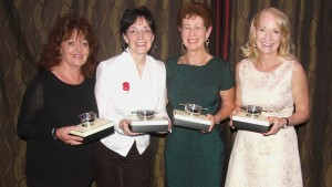 EISCC runner-up - Marie O'Kane, Louise Kerr, Christina Graham and Margarita Sweeney-Baird
