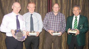 EISCC winners - Peter Wilson, Ross Barr, Robin Gray and Tony Tierney (missing form the photo is PJ Wilson)