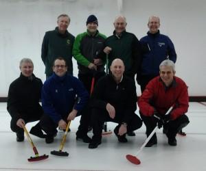 Back row - David H, Johnjo, Bill, David W. Front row - Eric, Doug, Robin, Jim