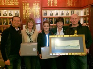 Murray mcWilliam, Margaret MacAuley, Lauren Morgan, Louise Kerr, Peter Wilson