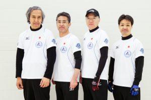 Fourth - Kenji Komoda (Skip) Third - Hideyuki Sato (Vice-skip) Second - Hisashi Ikuta Lead - Takashi Koyanagi