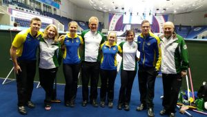 Team Ireland and. Team Sweden