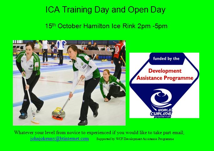 ICA Training Day @ Lanarkshire Ice Rink